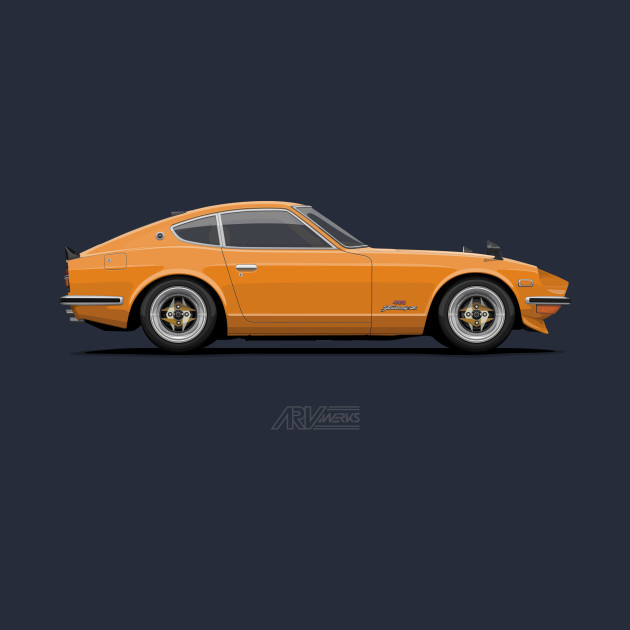 Fairlady 240Z Orange
