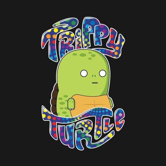 Trippy Turtle - Tank Top   TeePublic