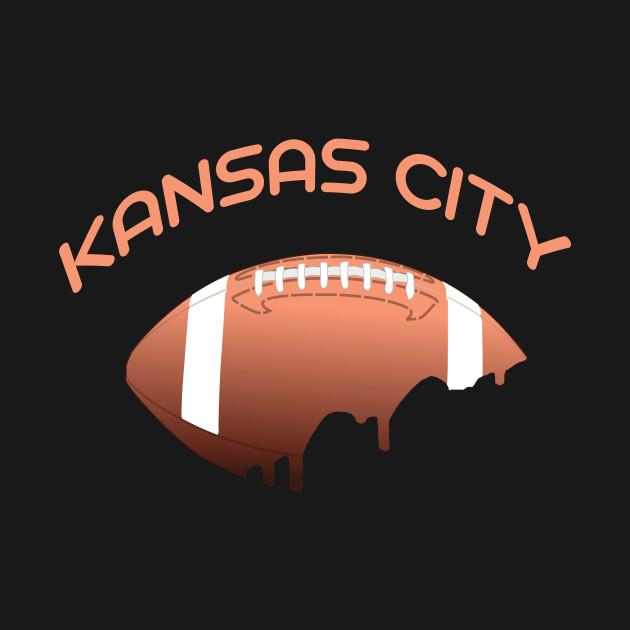 Kansas City Football Vintage  T-Shirt