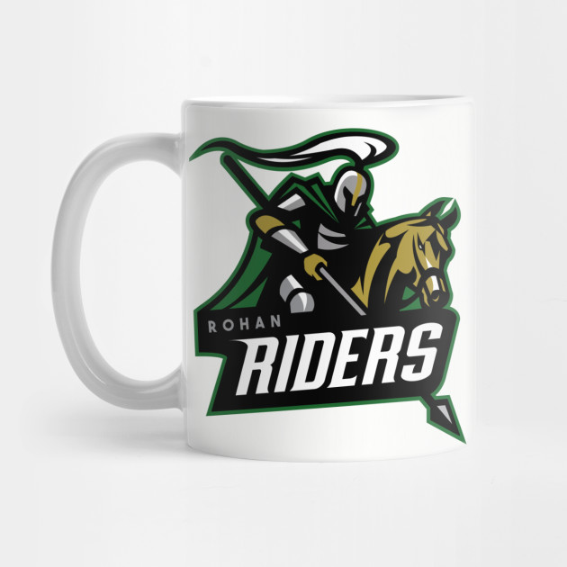 Rohan Riders Team Logo Mug by Prolific Pen