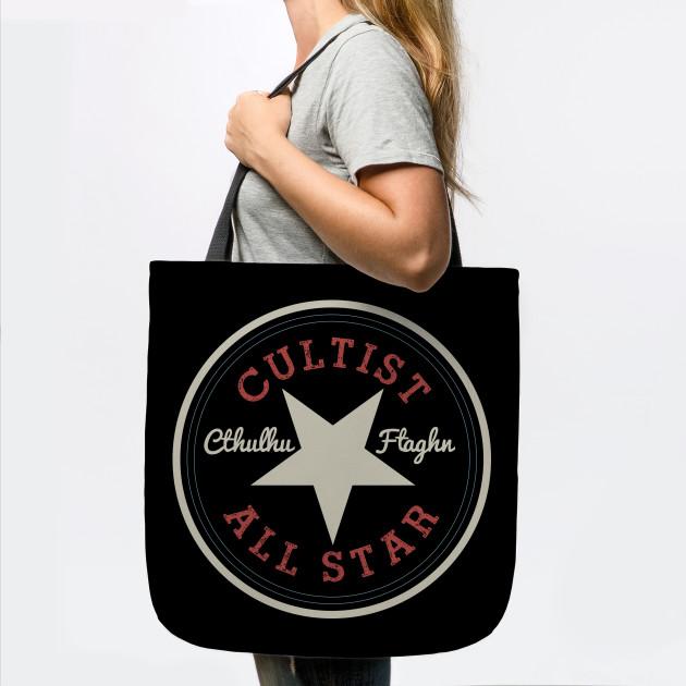 Cthulhu Cultist All Star - Cult - Tote  786e2e01da431