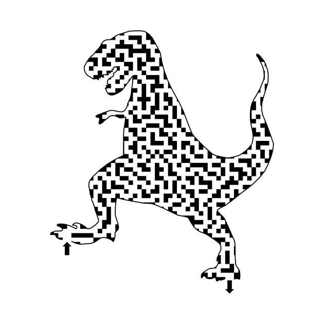 tyrannosaurus rex dinosaur maze - tyrannosaurus rex