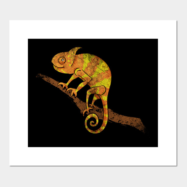 Chameleon Pet Cute Retro Reptile Reptile Poster E Stampa Artistica Teepublic It,Sun Conure For Sale