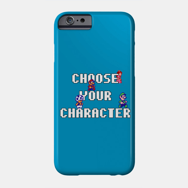 Choose Your Character - Super Mario Brothers 2