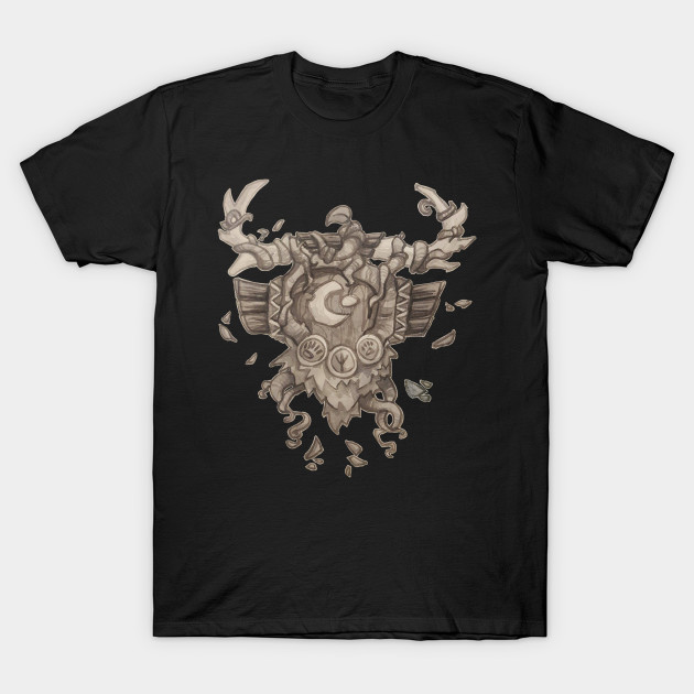 Druid Crest World Of Warcraft T Shirt Teepublic