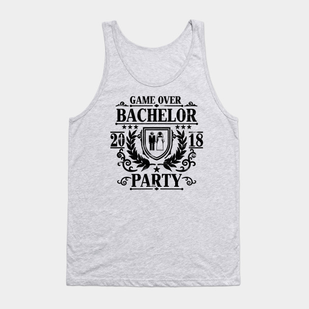 37f696c431a52 Mens Bachelor Party 2018 Groom Squad Stag Night T Shirt Gift Tank Top