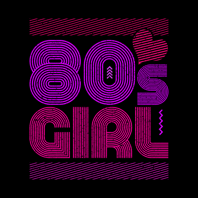 Vintage 80s Girl Eighties