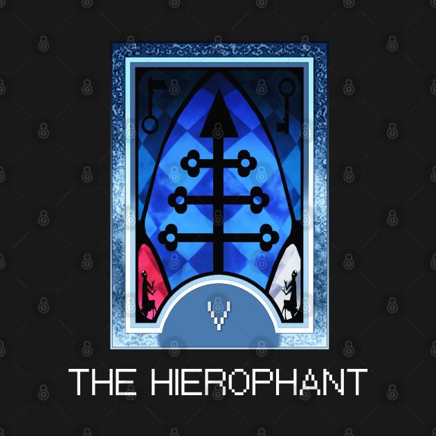 The Hierophant Arcana Tarot Card