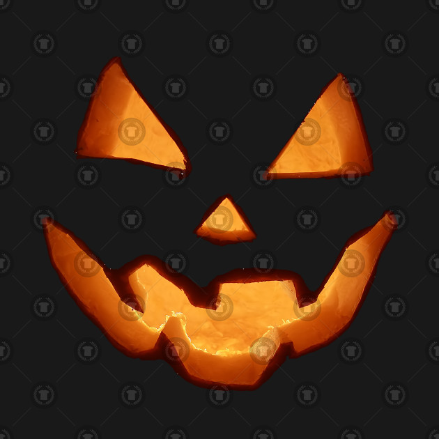 Scary Pumpkin Jack O Lantern Face Halloween Costume Humor Scary