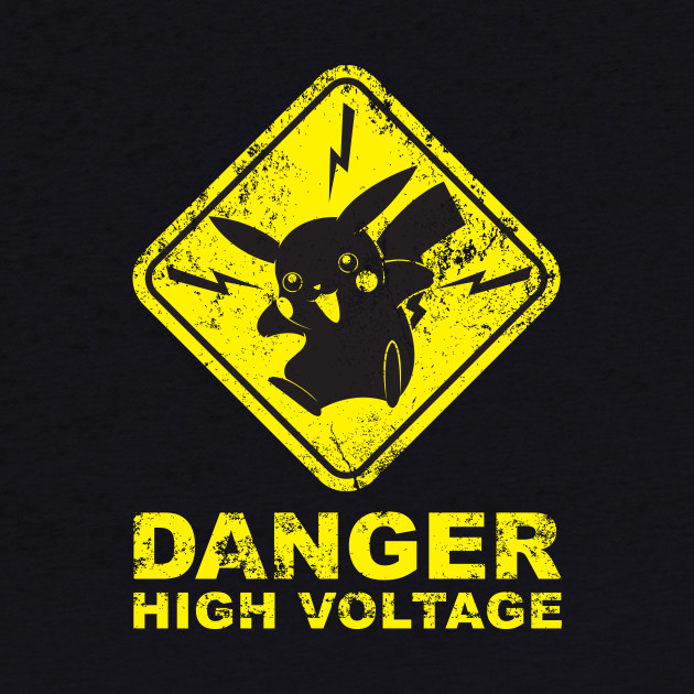 POKEMON- DANGER HIGH VOLTAGE