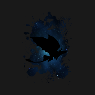 Toothless and Hiccup night t-shirts