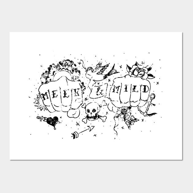 Tattoo Art Print//Poster Sailor Jerry Who Me