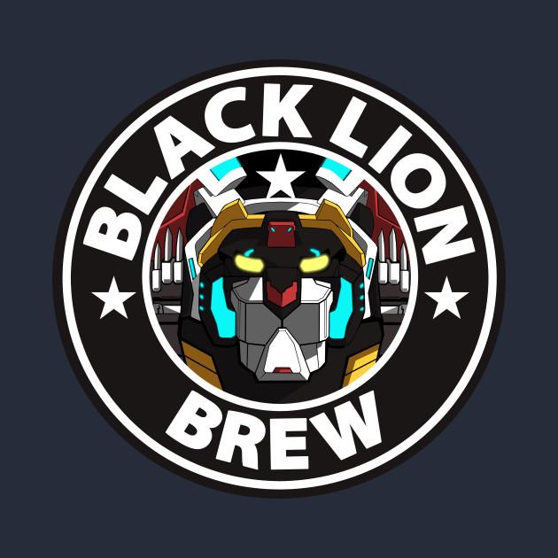 Voltron Lions Colors Black Lion Brew...