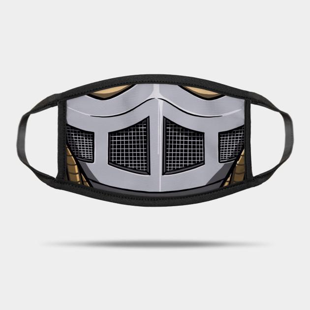 Shred Head Tmnt Ninja Turtles Shredder Mask Teepublic