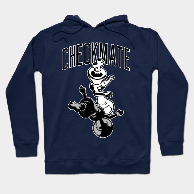9cc7ab7ab Checkmate Punch Funny Boxing Chess T-shirt - Chess - Hoodie | TeePublic