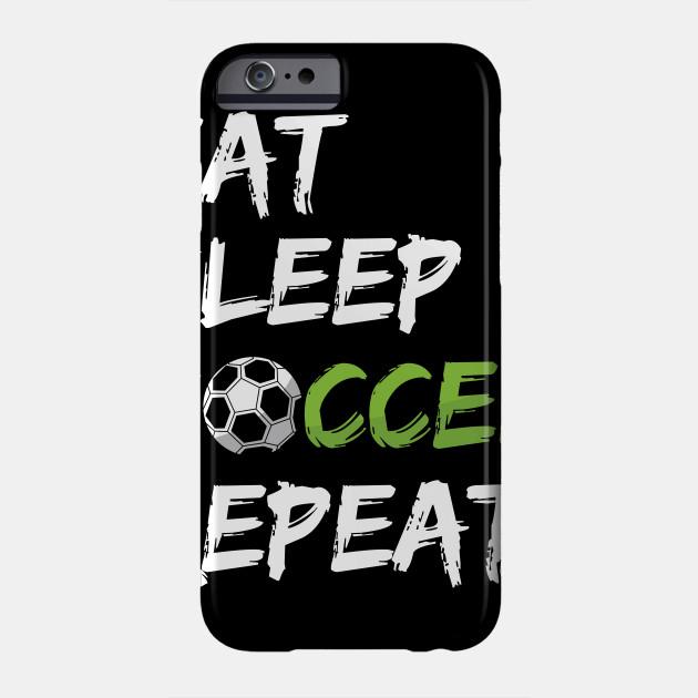 pretty nice 8590b f024a Eat Sleep Soccer Repeat Football Player Sports