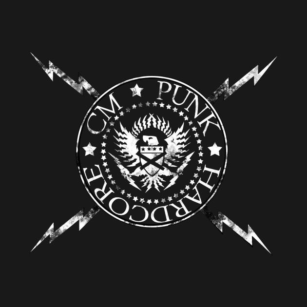 Cm punk hardcore wallpaper quotes t shirt teepublic 852184 1 voltagebd Images