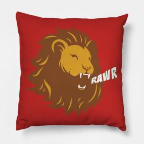 818518d8f Rawr Pillows | TeePublic