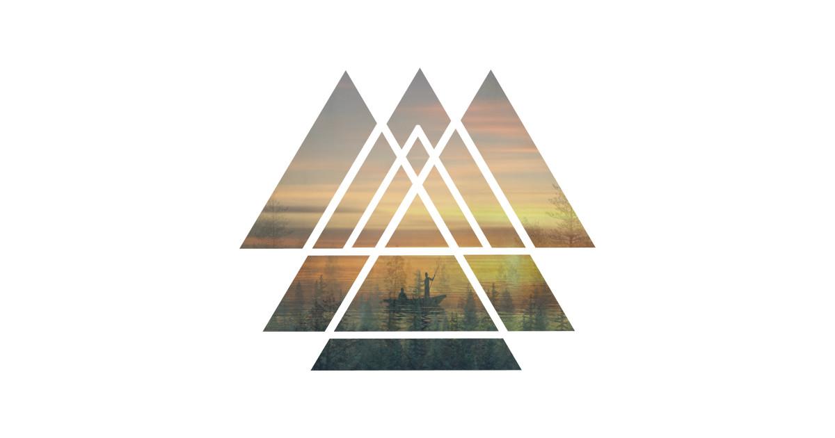 68e7f12161de Sacred Geometry Triangles - Magical Misty Nature - Triangles - Long ...