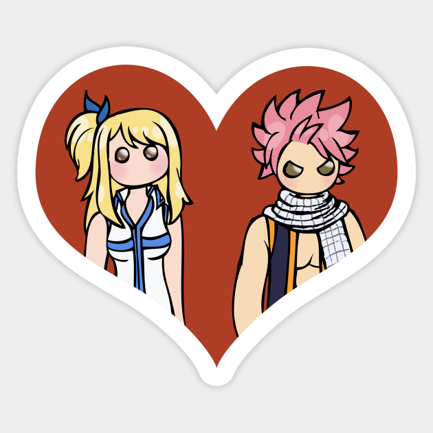 Lucy and Natsu - shipping dolls