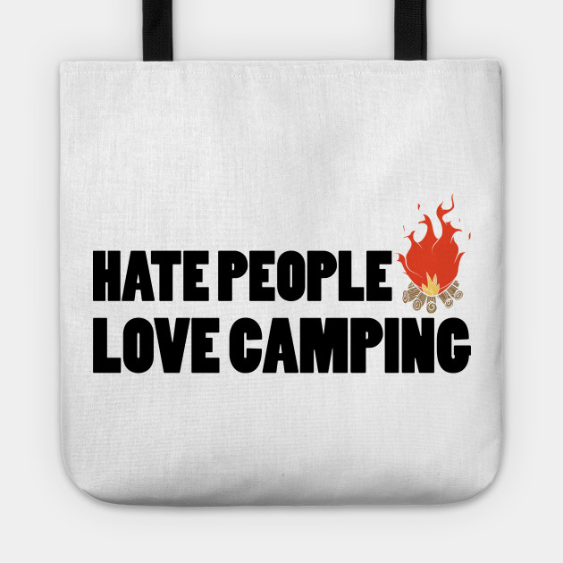 hate people love camping T-shirt