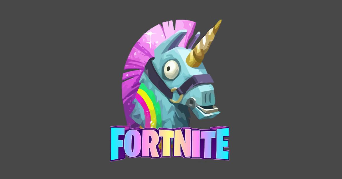 Loot Llama Fortnite Sticker Teepublic