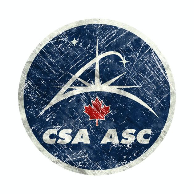 Canadian Space Agency Vintage Emblem