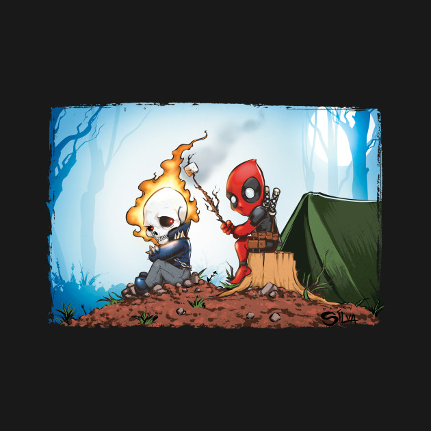 GhostRider & Deadpool Go Camping