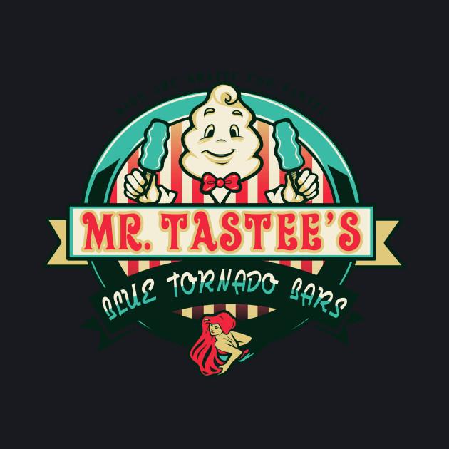 Mr. Tastee's Blue Tornado bars