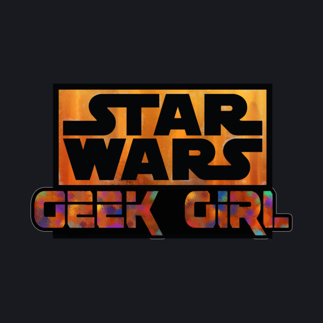 Star Wars Geek Girl Logo by Sal