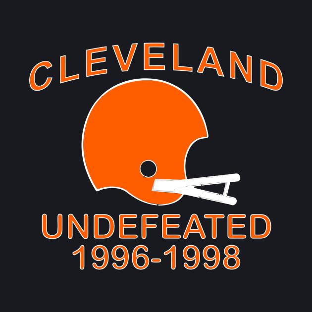 CLEVELAND UNDEFEATED 1996-1998