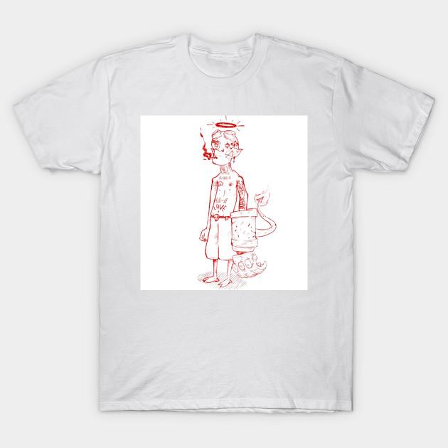 6303f488 Lil peep Hellboy - Lil Peep - T-Shirt | TeePublic