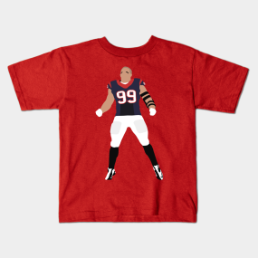 buy online 4534a d0efd Jj Watt Kids T-Shirts | TeePublic