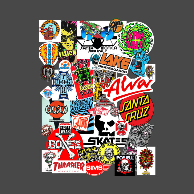 Skateboard Sticker Collage  Skateboard  Tshirt  Teepublic. Mio Stickers. Work Anniversary Banners. Splotchy Signs. Create A Banner To Print. Malayalam Stickers. Yellowing Signs. Worship Team Banners. Family Tattoo Lettering