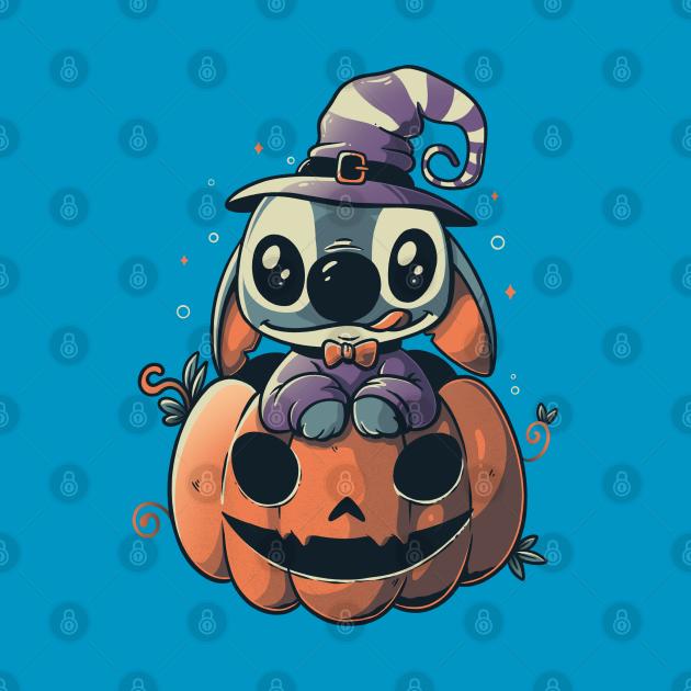 Ohana Pumpkin Funny Spooky Halloween Experiment - Light
