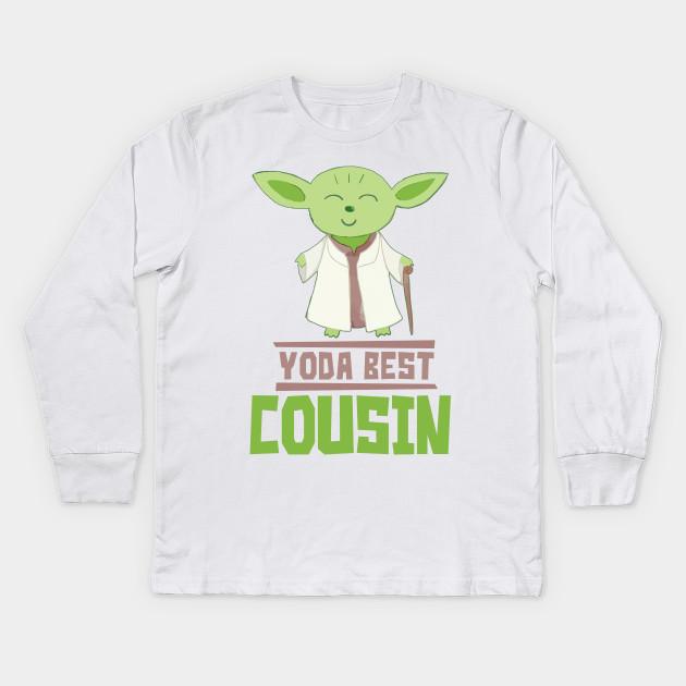 639d5413 Yoda Best Cousin - Star Wars - Kids Long Sleeve T-Shirt | TeePublic