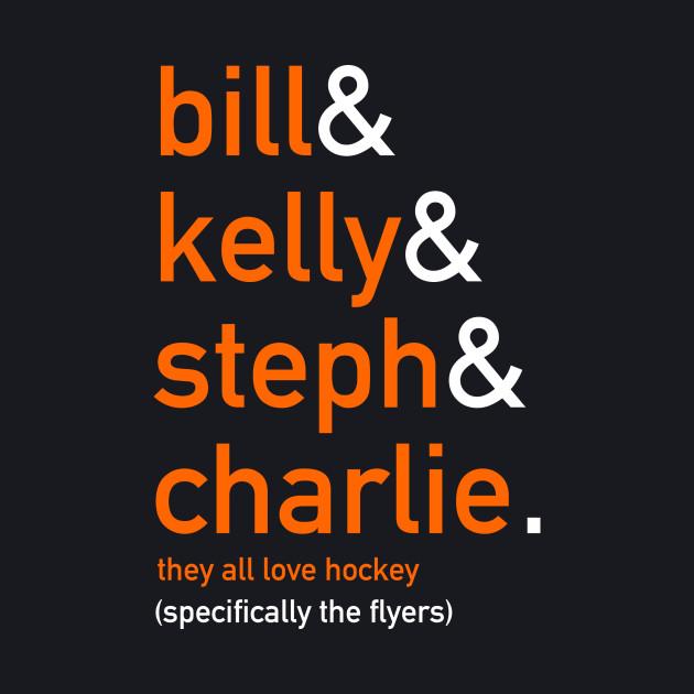 They all love hockey