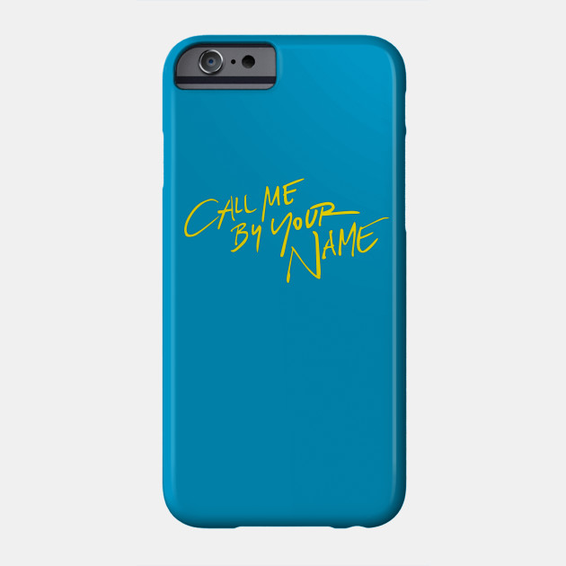 Call Me By Your Name Merch