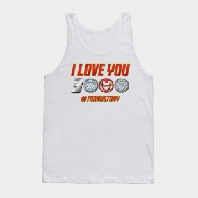 cb5966ee I Love You 3000 Meaning Tank Tops | TeePublic