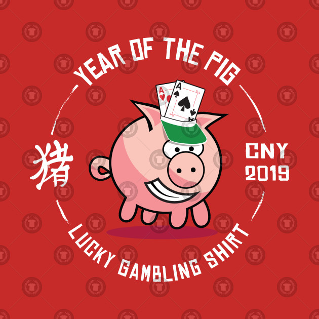 Lucky Pig Chinese New Year 2019 Gambling Chinese New Year Gift