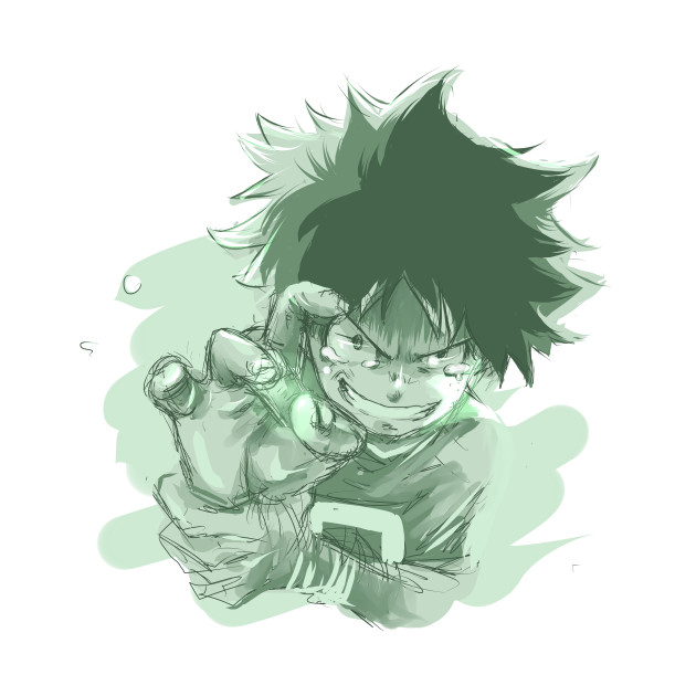 Deku Sketch - Boku No Hero Academia - T-Shirt