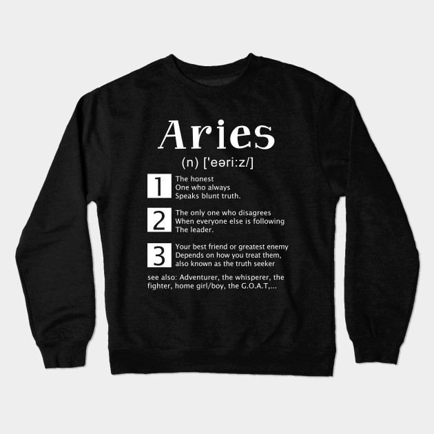 Definition of Aries T-Shirt