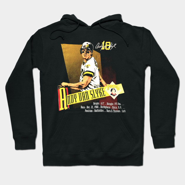wholesale dealer 33cf1 94f2f High quality Vintage 1990s Andy Van Slyke Pittsburgh Pirates T Shirt