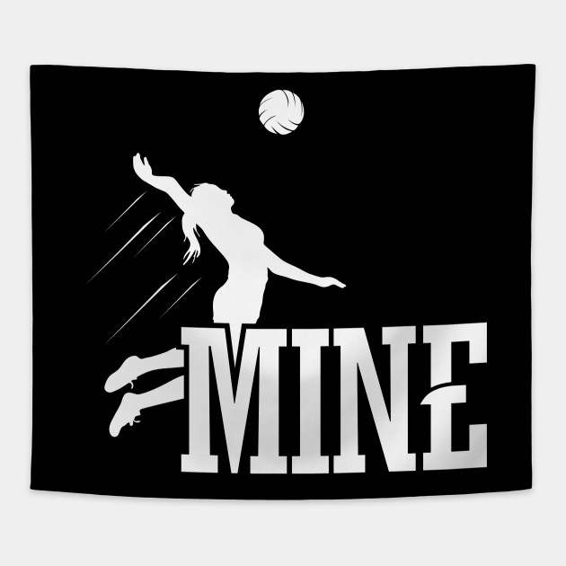 0150c2deeb Funny Volleyball Gifts For Women Love Volleyball MIne - Volleyball ...