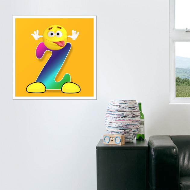 Letter Z Alphabet Smiley Monogram Face Emoji Shirt for Men Women ...