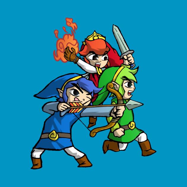 Triforce Heroes Legend of Zelda