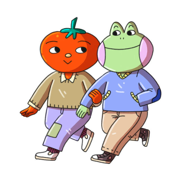 Frog and Tomato