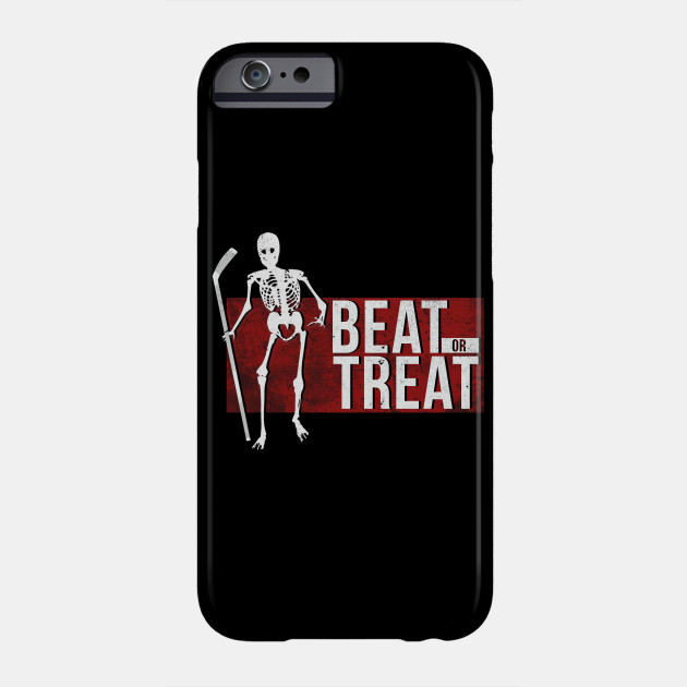 Halloween Ice Hockey Gift I Hockey Player Costume Phone Case