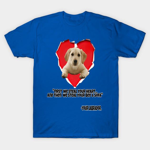 THE MOUNTAIN BLACK LAB LABRADOR DOG PUPPY LOYAL COMPANION T TEE SHIRT S-5XL