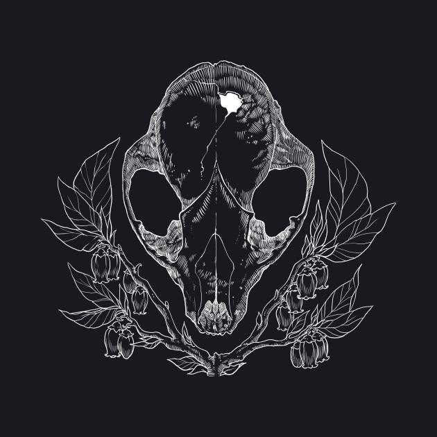 Coon Skull Noir